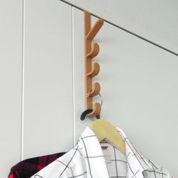 5단 도어훅 옷걸이 가방걸이 모자걸이