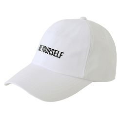 츄바스코 (BE YOURSELF) softshell ball cap WHITE CBC16008