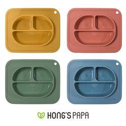 홍스파파 실리콘 판다 유아 흡착식판