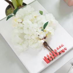 전구벚꽃나무액자set 30cmP(펜포함) (조화) FMFUFT