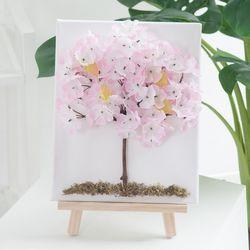 벚꽃액자set 30cmP(펜+이젤포함) (조화) FMFUFT