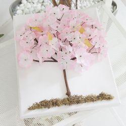 벚꽃액자set 30cmP(펜포함) (조화) FMFUFT