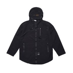 STGM TECH WINDBREAKER JACKET BLACK
