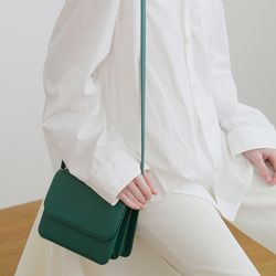 FENNEC DOUBLE BAG - FOREST GREEN