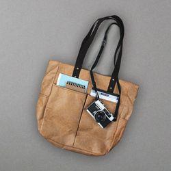 6 Pocket 3 Way Bag - (베이지) (방수 크래프트)