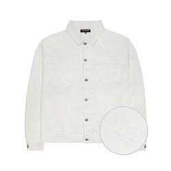 Basic Trucker Jacket (white)