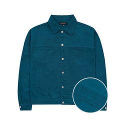 Basic Trucker Jacket (blue green)