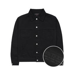Basic Trucker Jacket (black)