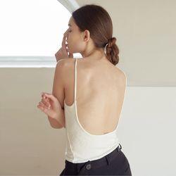 back open sleeveless