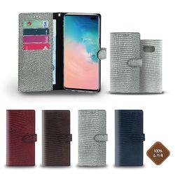 엘지V50 V500 고급 면피 마린 휴대폰 가죽케이스