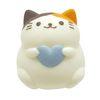 모찌 스퀴즈 - 블루 하트 고양이 (일본정품 직수입)
