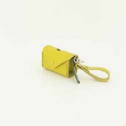 Strap Poop Bag S Yellow Green
