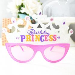 파티용품 생일프린세스 안경