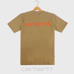 [칼하트]K195 베럴헤더 로고 티셔츠
