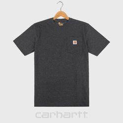 [칼하트]K87 카본헤더 포켓 티셔츠