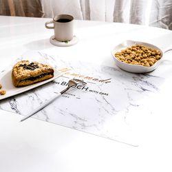 호텔 티테이블 방수 식탁 매트