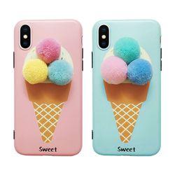 아이폰8 3D 입체 아이스크림 젤리케이스 (P192)