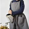 린넨 유아 어린이 원피스 앞치마 어린이집 요리 미술 꽃수업