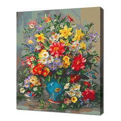 [명화그리기]4050 꽃의 이야기 30색 정물화