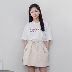 [로코식스] 라모트 베이직 티셔츠