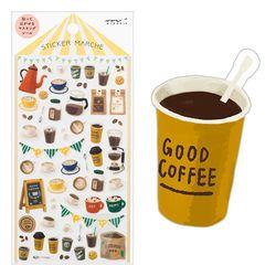 Sticker Marche - Coffee