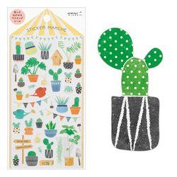 Sticker Marche - Cactus