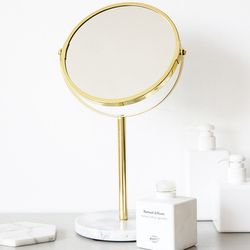 마블 탁상 원형 화장거울