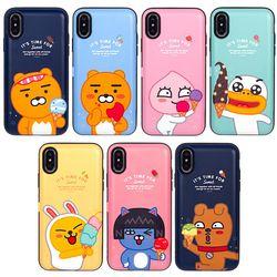 카카오프렌즈 icecream 카드수납케이스-아이폰5 5S SE