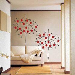 친환경 포인트스티커 거베라나무