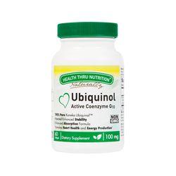 [3병↑비타민 1병 더 증정] Ubiquinol CoQ-10 100mg (NON-GMO) 60개입