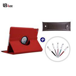 UB 갤럭시노트 10.1 2014 (P600) 회전 케이스+터치펜+펜파우치