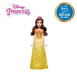 디즈니프린세스 패션돌 반짝이 드레스 - 벨