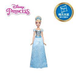 디즈니프린세스 패션돌 반짝이 드레스 - 신데렐라