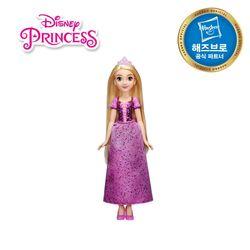 디즈니프린세스 패션돌 반짝이 드레스 - 라푼젤