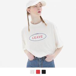 리브 글롭 반팔 티셔츠 (3color)
