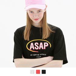 ASAP 반팔 티셔츠 (3color)