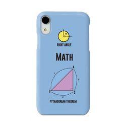 math 하드폰케이스 (블루)