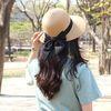여신강림 리본 라피아햇 2colors(AG5T9604BA)