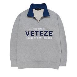 Authentic Half Pullover (gray)