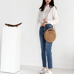 써클 왕골백 라탄가방 여름밀짚 비치백 (2 color)