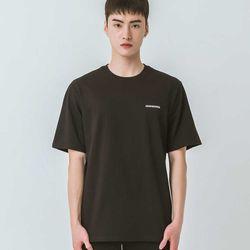 밴웍스 베이직 로고 자수 반팔 티셔츠(VNAITS216)
