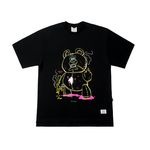 BEAR GANG OVERSIZED T-SHIRTS BLACK