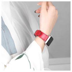 애플워치 패션 가죽밴드 스트랩 시계줄 38 40 42 44mm