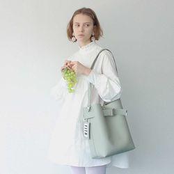 SISTER BELTED SHOULDER BAG(pale green)