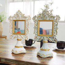 르네상스 사각 탁상 거울 2color