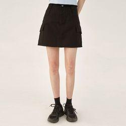 muse cargo mini skirt (s m)