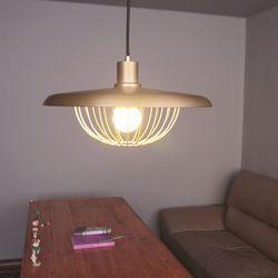 boaz 골드망 팬던트 식탁등 LED 카페 인테리어 조명