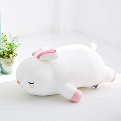 모찌모찌 꿀잠쿠션 Ver.2 토끼 동물인형 30CM