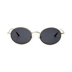 Dominik Gold Black Lens