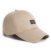 19 TWIN LABEL CAP BEIGE